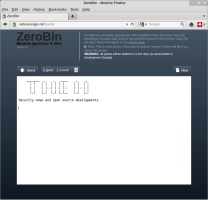ZeroBin provides an encrypted alternative to Pastebin